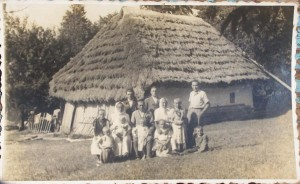 domek rudohorských Slováků, cca 1939–1940