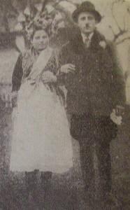 svatební pár, r. 1933, Gemelčička