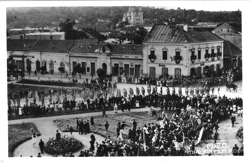 Horthyovské vojsko v Zalău