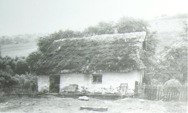 domek rudohorských Slováků, cca 1930–1940