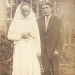 reemigrantský pár, cca 1949